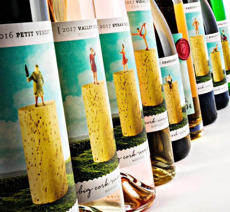 Award winning Big Cork Vineyard