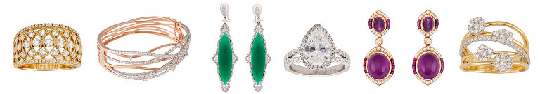 Top jewelry photography for your advertising on white for e-commerce