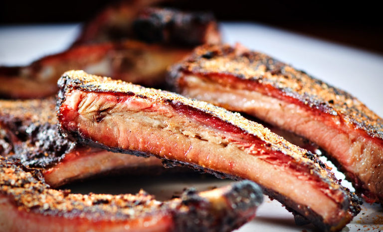 BBQ ribs food photography by Jeff Behm Photo Studio, serving Baltimore, Maryland, Northern Virginia and DC