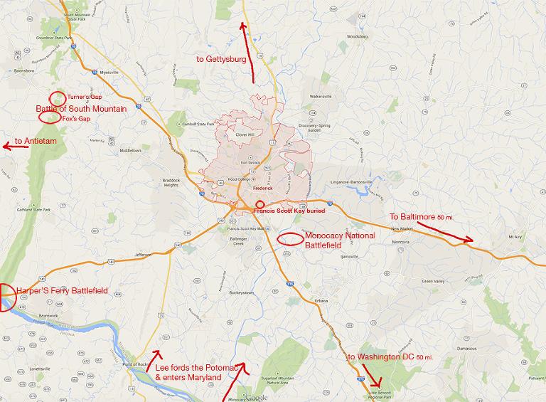 Monocacy Map